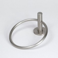 Basic Build Your Own Towel Ring-Satin Nickel
