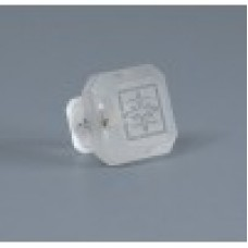 Etched Glass 1 1/4 Inch Cabinet Knob-Crystal Clear