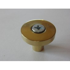 Modern Forms Collection -Polished Brass Cabinet Knob