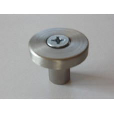 Modern Forms Collection -Satin NIckel Cabinet Knob