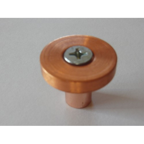 Modern Forms Collection  Polished Copper Cabinet Knob