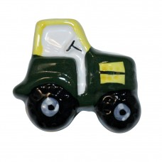 Green Tractor Cabinet Knob