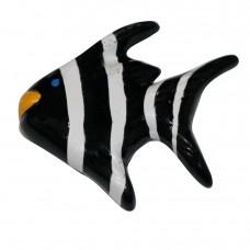 Striped Angel Fish Knob-Left Facing