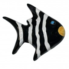 Striped Angel Fish Knob-Right Facing