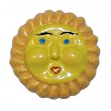 Sun Face Cabinet Knob