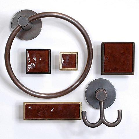 art glass cabinet knobs pulls merlot red