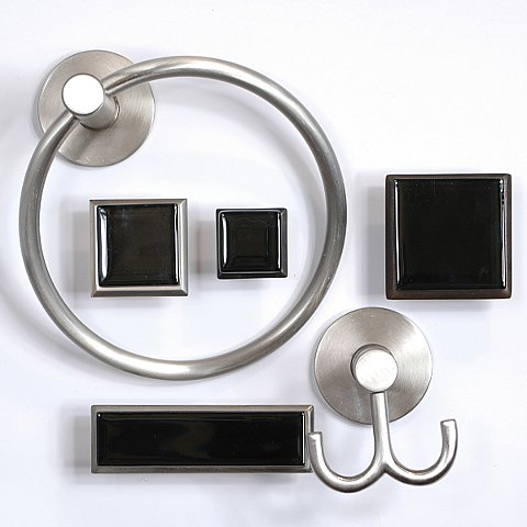 art glass cabinet knobs pulls obsidian black